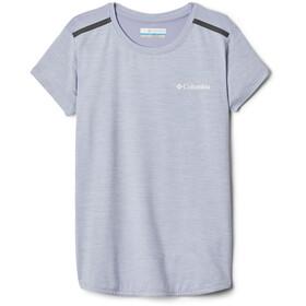 Columbia Tech Trek Camiseta Manga Corta Niñas, twilight heather